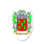Figuerola 20x12 Oval Wall Decal