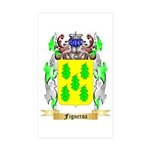 Figueroa Sticker (Rectangle 10 pk)