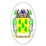 Figueroa Sticker (Oval)
