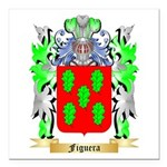 Figuera Square Car Magnet 3