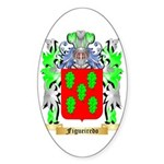 Figueiredo Sticker (Oval 50 pk)
