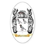 Figovanni Sticker (Oval 50 pk)