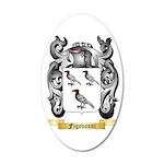 Figovanni 35x21 Oval Wall Decal