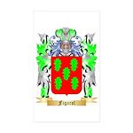 Figarol Sticker (Rectangle 50 pk)