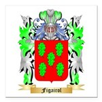 Figairol Square Car Magnet 3