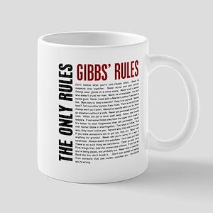 Gibbs' Rules Mug