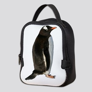 Gentoo Penguin Neoprene Lunch Bag