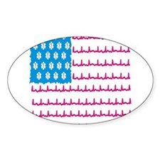 EMS flag Sticker