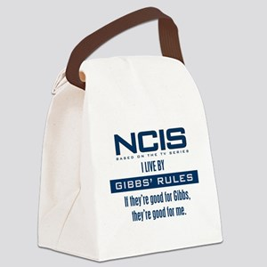 I Live by Gibbs' Rules Canvas Lunch Bag