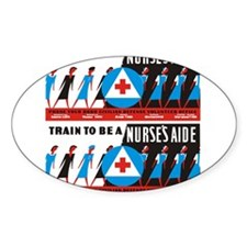 Train to be a nurses aid Sticker