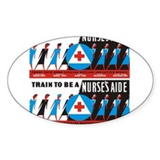 Train to be a nurses aid Sticker