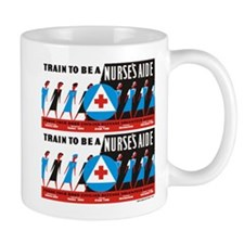 Train to be a nurses aid Mugs