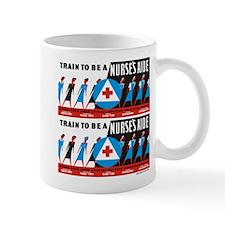 Train to be a nurses aid Mugs