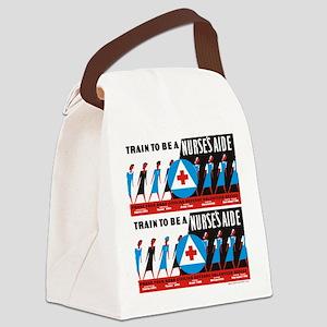 Train to be a nurses aid Canvas Lunch Bag