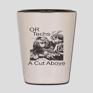 OR techs Shot Glass