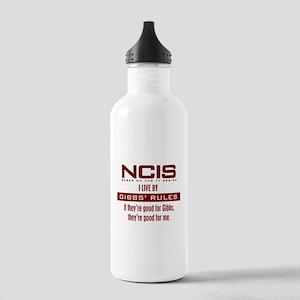 Gibbs Rules Good En... Water Bottle