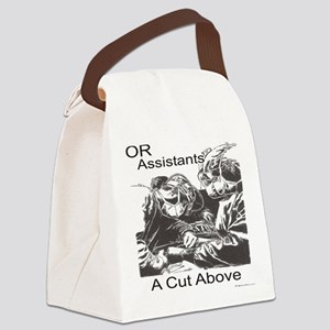 OR assistants Canvas Lunch Bag