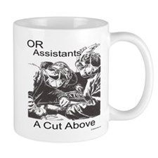 OR assistants Mugs