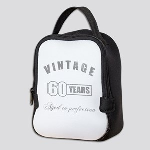 Vintage 60th Birthday Neoprene Lunch Bag