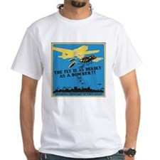 Fly is as deadly as a bomber T-Shirt