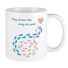 The way to your heart Mugs