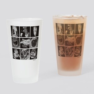 Fetal ultrasound images Drinking Glass