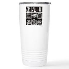 Fetal ultrasound images Travel Mug