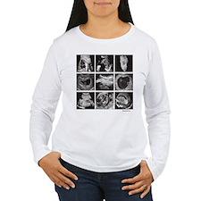 Fetal ultrasound images Long Sleeve T-Shirt