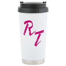 RT, red Travel Mug