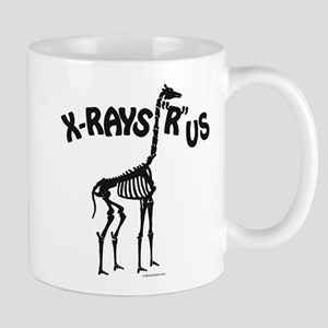 Xrays R us, black on white Mugs