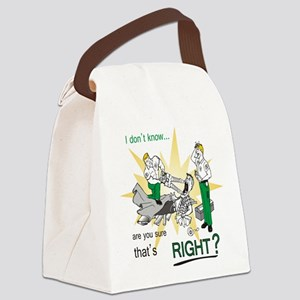 Jaws of life Canvas Lunch Bag