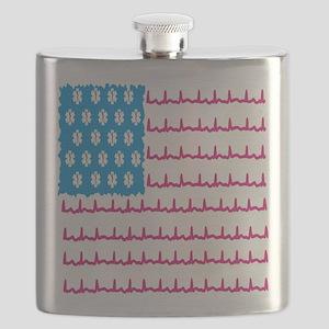 EMS flag Flask