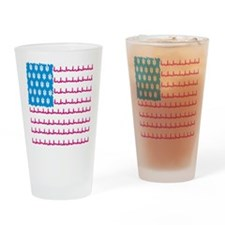 EMS flag Drinking Glass