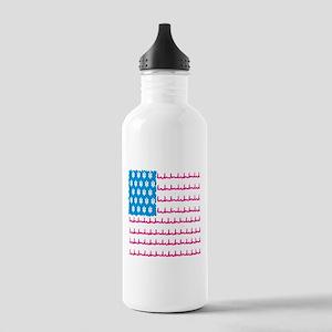 EMS flag Water Bottle