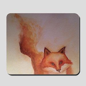 Fire Fox Mousepad