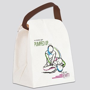 Pumped up EMT Canvas Lunch Bag