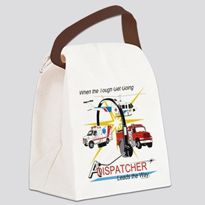 Dispatchers lead the way Canvas Lunch Bag