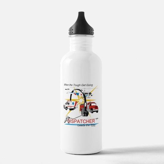 Dispatchers lead the way Water Bottle