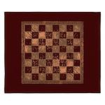 Antique Checkerboard King Duvet
