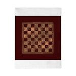 Antique Checkerboard Twin Duvet