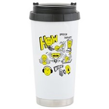 How Speech Therapy Works Travel Mug