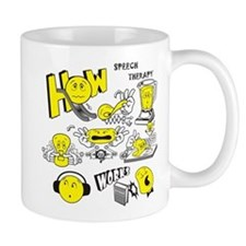 How Speech Therapy Works Mugs