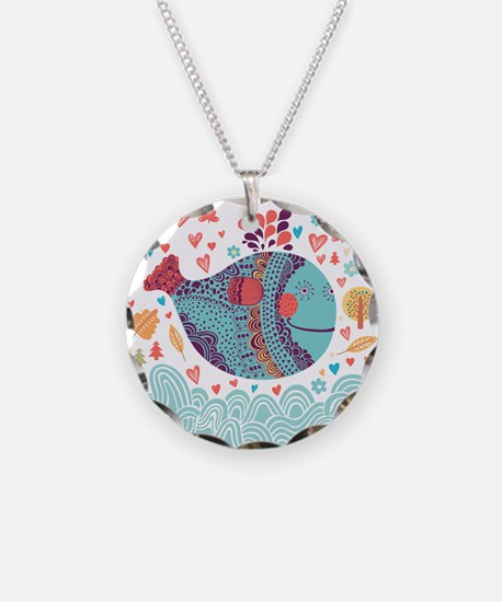 Whimsical Whale Necklace