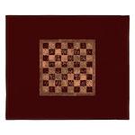 Antique Chess King Duvet