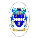 Fieldhouse Sticker (Oval 10 pk)