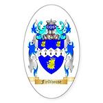 Fieldhouse Sticker (Oval 50 pk)