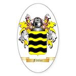 Fiddler Sticker (Oval)