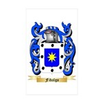 Fidalgo Sticker (Rectangle 50 pk)
