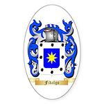 Fidalgo Sticker (Oval 10 pk)