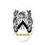 Ffrench Oval Car Magnet
